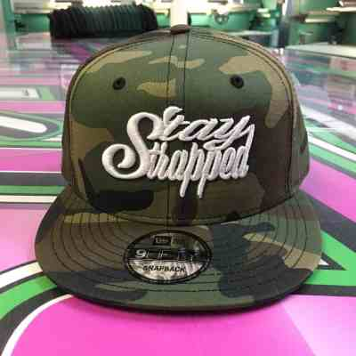 Stay Strapped Camo Snapback