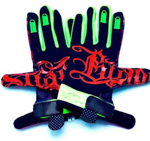 KX Killa MX Space Goo MX Glove by Brapp Straps by Brapp Straps