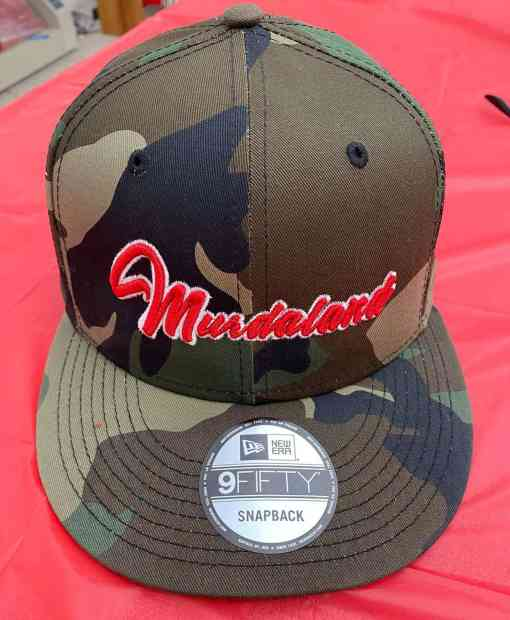 Murdaland New Era Snapback Hat by Brapp Straps