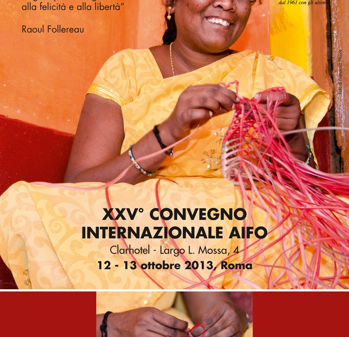 AIFO realiza seu XXV Convegno