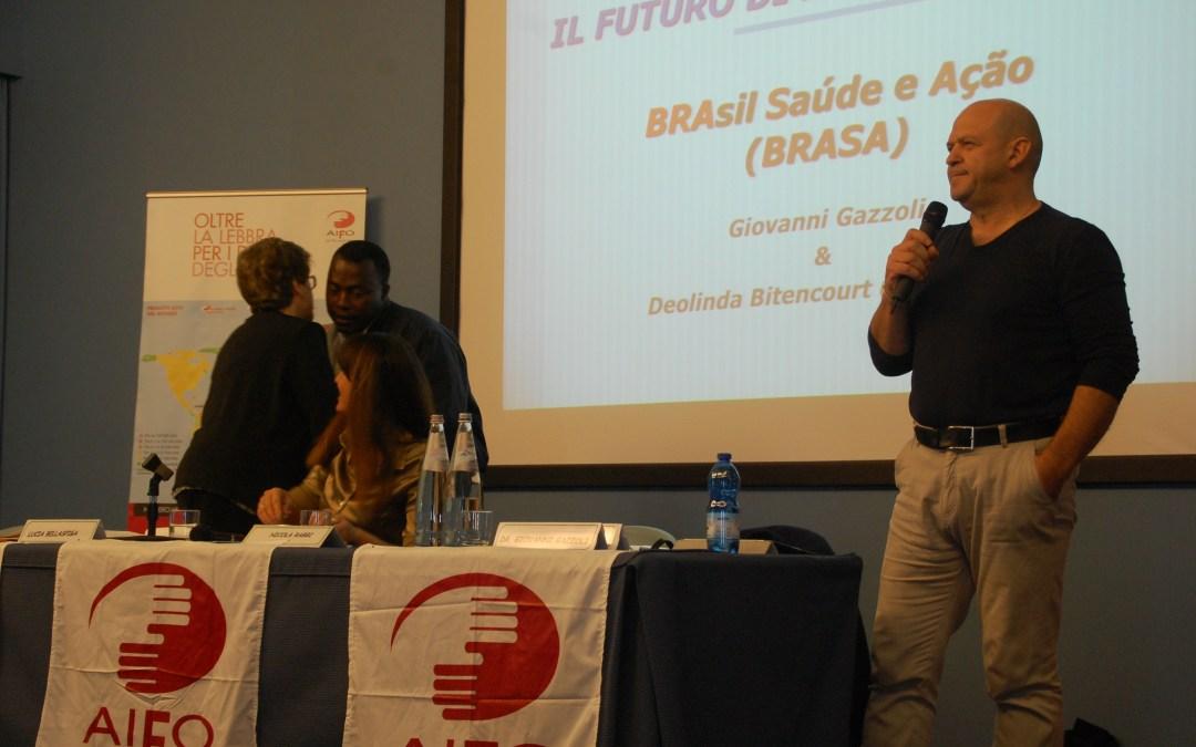 Associação Brasil Saúde e Ação – BRASA marca presença no XXV Convegno AIFO