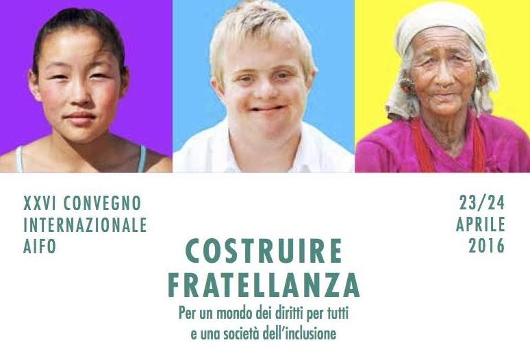 """XXVI Convenção Internacional AIFO """"Construir fraternidade"""""""