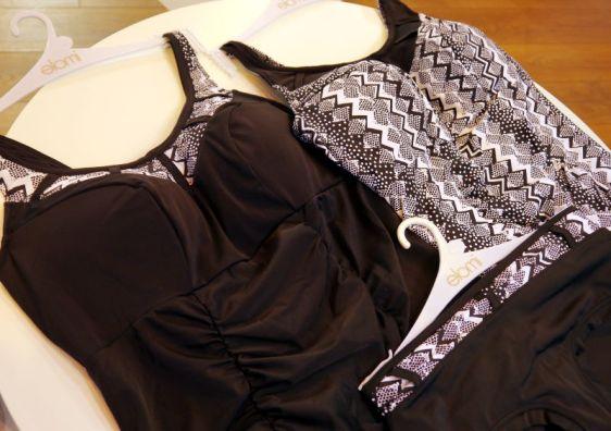 Elomi Swim Lucky Star Tankini, Swimsuit and Bikini in Black (Elomi Swim AW16)