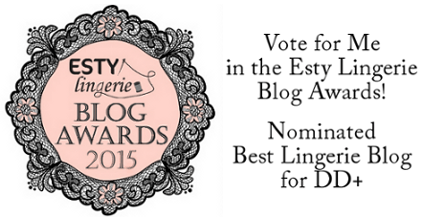 Esty Lingerie Blog Awards Banner