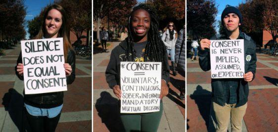 Free Figure Revolution Consent Rally