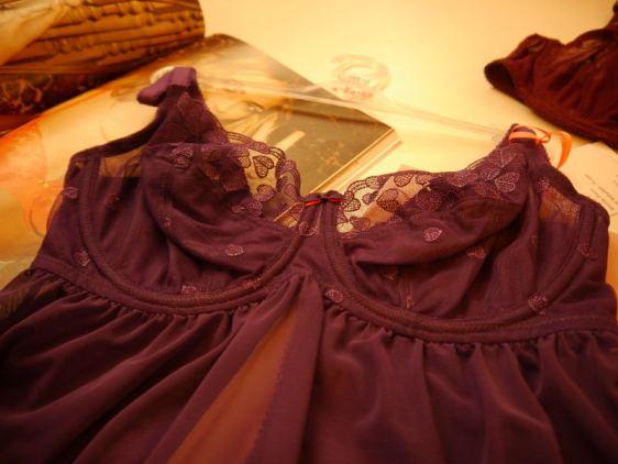 Cleo by Panache Kali Babydoll in Purple