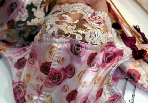 Rochella Rosey Posey Bra Detailing (Rochella SS16)