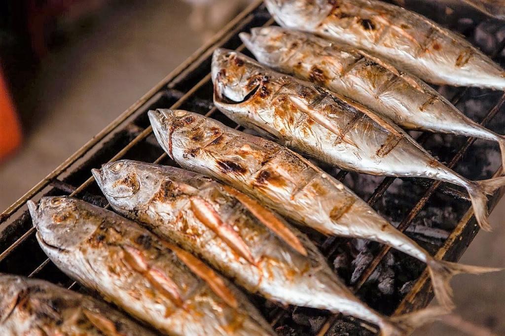 pescado a la parrilla otro servicio de barbacoa a domicilio en Brasas y Sabores