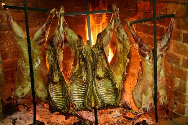 asado argentino en Brasas y Sabores Catering Barbacoa a Domicilio Madrid