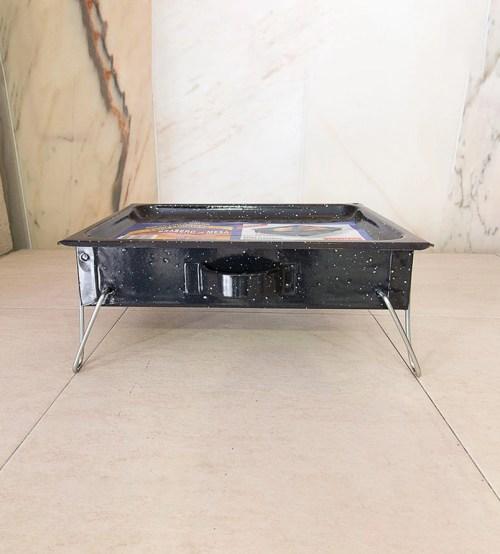 Brasero de mesa patas plegables 02