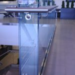 Glass Guardrails w/ Stainless Steel Handrails