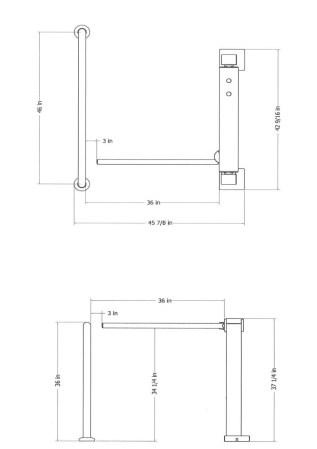 Standard Single Unit Dimensions