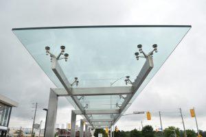 Glass Canopy Closeup