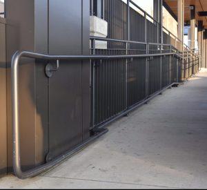 Painted Steel Railings