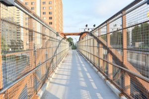 Webnetting w/ Stainless Steel Handrail