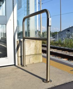 Handicap Push Button Door Entrance Guard