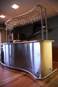 Bar Cladding w/ Stemware System