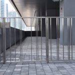 Stainless Steel Picket Railings & Gate