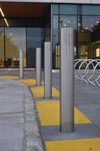 Stainless Steel Bollards & Bicycle Racks