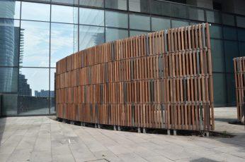 Brazilian Ipe Wood w/ Linseed Oil Rubbed Coating, Stainless Steel Brushed 316 & Galvanized Steel Windscreen