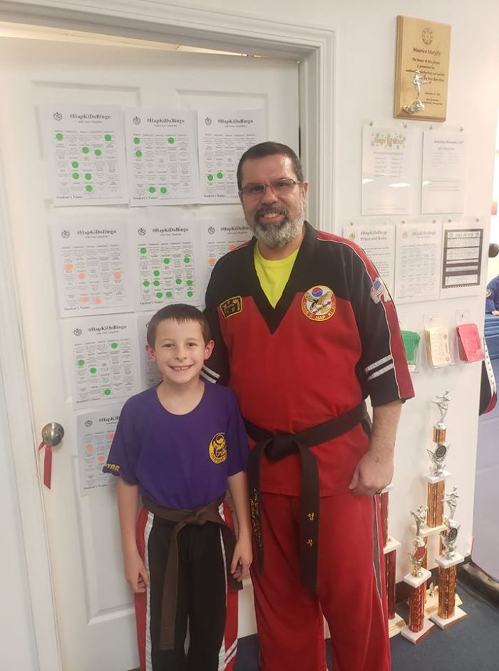 Instructor Anthony Rivera at Choe's HapKiDo Flowery Branch