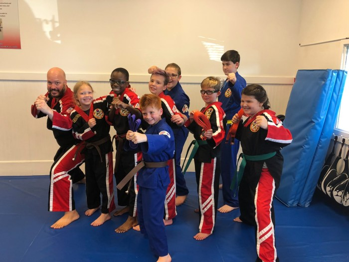 HapKiDo Avengers at Martial Arts Karate Flowery Branch, Georgia