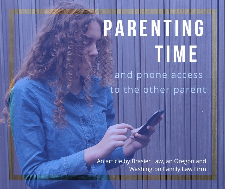 Parenting Time and Telephone Access to the Other Parent