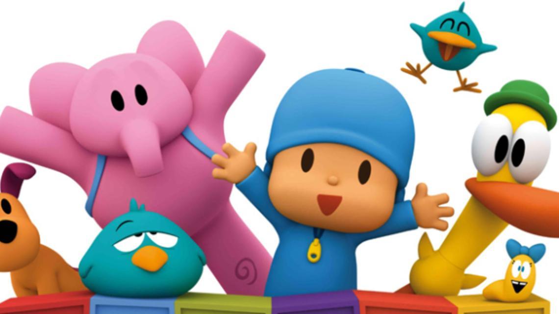 pocoyo-Dibujos animados - Inglés para niños