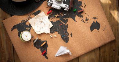 Mapa e dicas de Inglês para viagens
