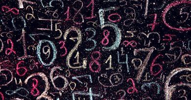 números de 1 a 9