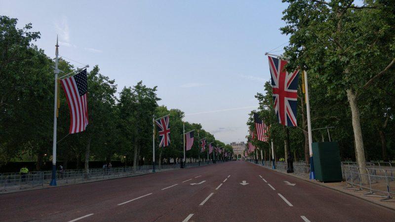 bandeiras - ingles britanico e ingles americano