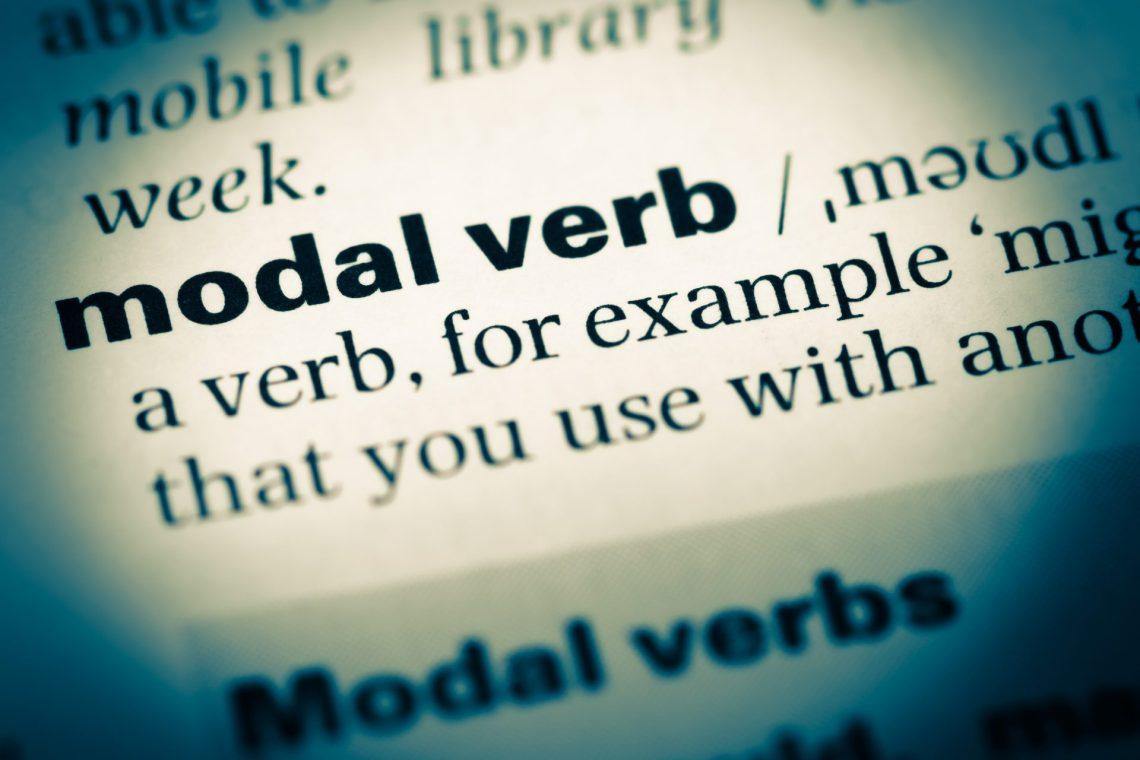 Modal verbs en inglés