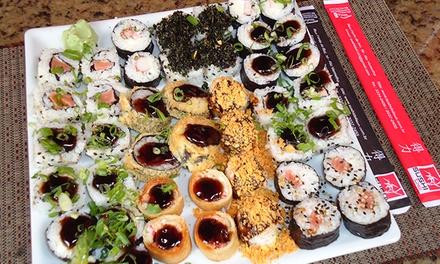 Combinado com 40 peças no almoço ou jantar no Sushi Deli – Rio Vermelho