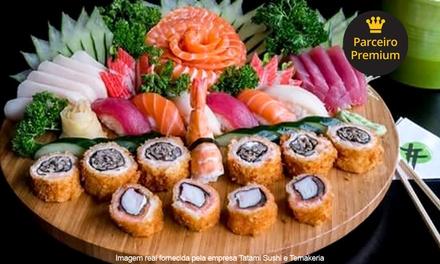 Tatami Sushi e Temakeria – Itaim Bibi: rodízio com sobremesa inclusa para 1 ou 2 pessoas