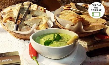 Ritorna Restaurante: Delicioso Buffet de Sopas + saladas e sobremesas no Coração de Gramado/RS