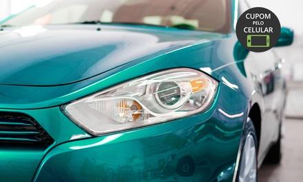 Estética Automotiva GP – Cidade Nova: lavagem externa, polimento e limpeza interna (opção de lavagem de chassis e mais)