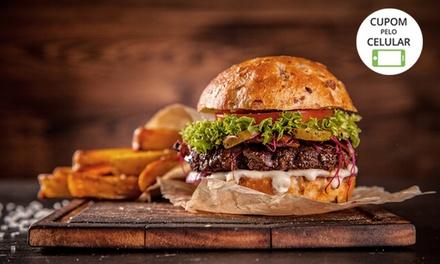 Hambúrguer tradicional ou da casa para 1, 2 ou 4 pessoas no Americ Restaurante e Hamburgueria – Santo André