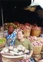Mercado tradicional, Kotonu, Benin, África.