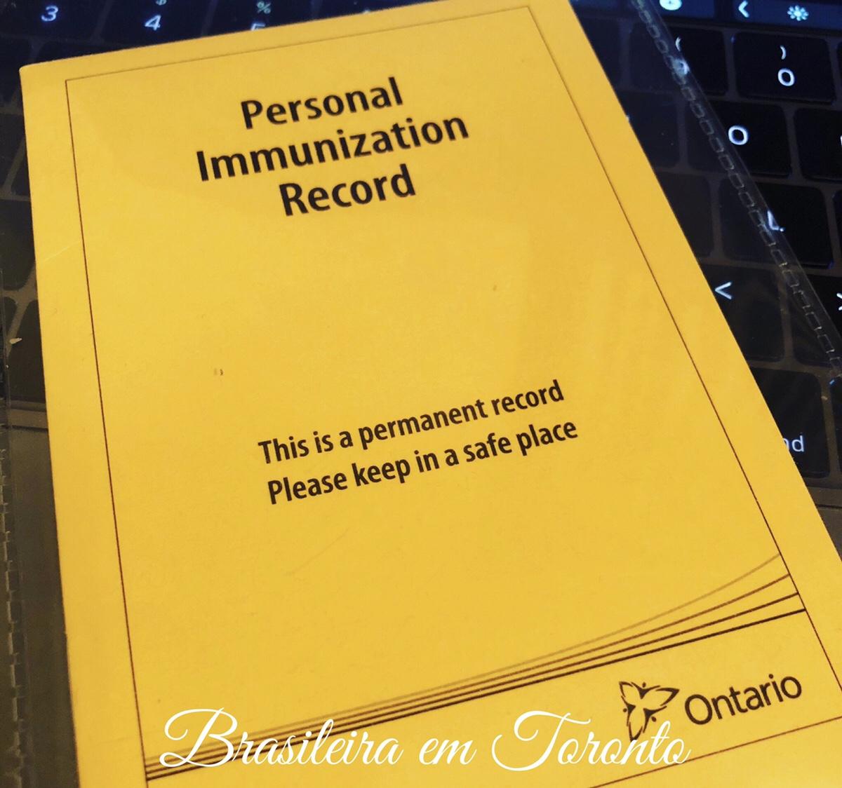 Calendário de vacinas e visitas de rotina do bebê em Ontário