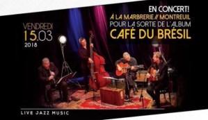 Sortie de l'Album CAFÉ DU BRÉSIL à la Marbrerie @ La Marbrerie | Montreuil | Île-de-France | França
