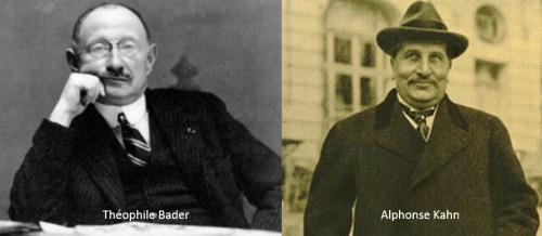 Théophile Bader e Alphonse Kahn Galeries Lafayette