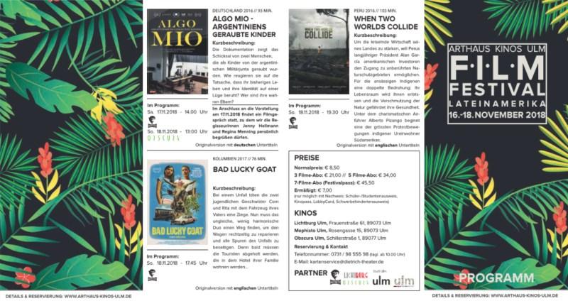 Film Festival Lateinamerika Ulm