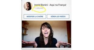 """Ingrid Bonini do blog """"Aqui na França"""" fala como surgiu o seu blog"""