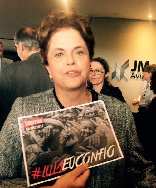 Dilma Rousseff em Curitiba