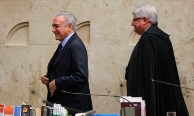 Janot diz que Temer deu 'anuência' a pagamento de propina a Cunha
