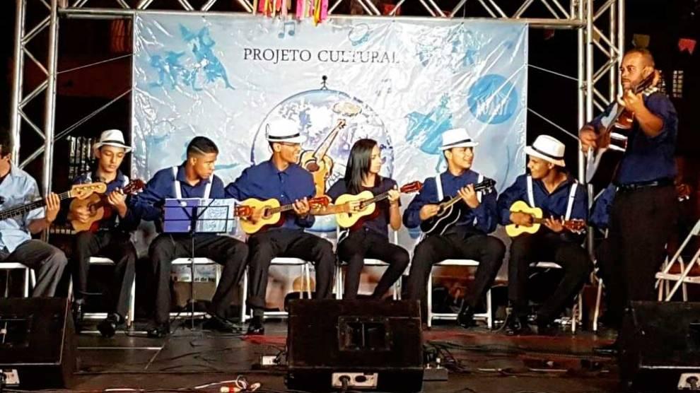 Orquestra de Cavaquinhos no Parque da Cidade