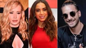 Maluma substitui Anitta em show com Iggy e fãs detonam