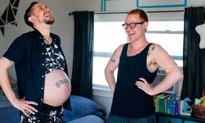 Transgênero e parceiro esperam 1º filho biológico nos EUA