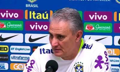Tite faz quatro mudanças na seleção para jogo contra a Colômbia