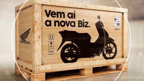 Salão Duas Rodas será palco para estreia da nova Honda Biz 2018